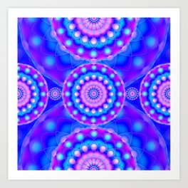 Psychedelic Visions G145 Art Print