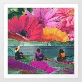 Dreams of spring Art Print