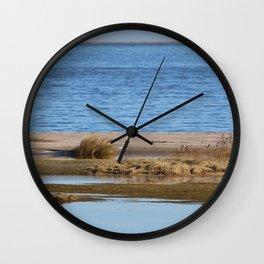 At the beach 6 Wall Clock