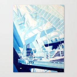 "''Urban Bridges"" by Diana Grigoryeva Canvas Print"