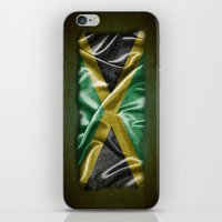 jamaica iPhone & iPod Skins featuring Jamaica flag by DesignAstur
