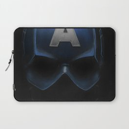 Capt America - Cowl Portrait Laptop Sleeve
