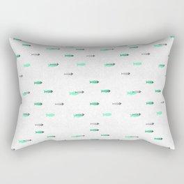 Fish Bone Rectangular Pillow