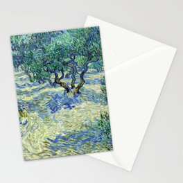 Vincent Van Gogh - Olive Orchard Stationery Cards