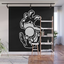 """""""The Power Within"""" Anime Manga Power-up Hands Wall Mural"""
