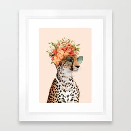 ROYAL CHEETAH Framed Art Print