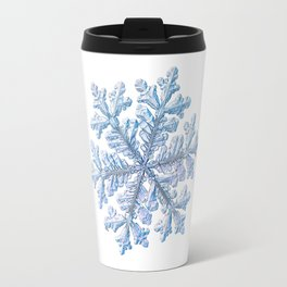 Real snowflake - Hyperion white Travel Mug