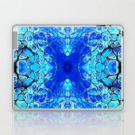Blue liquid acrylic cells Laptop & iPad Skin