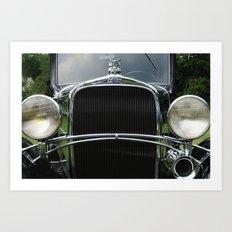 Chevrolet classic Art Print