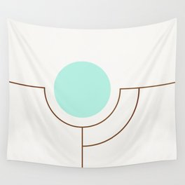 Balm 05 // ABSTRACT GEOMETRY MINIMALIST ILLUSTRATION by Wall Tapestry