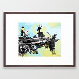 Building a Better Buffalo: Two Framed Art Print