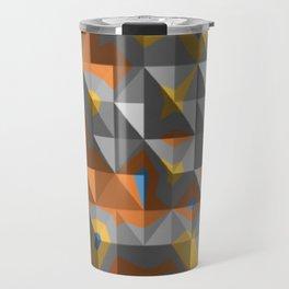 abstract mountain range Travel Mug
