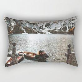 man at braies Rectangular Pillow