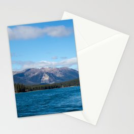 Mountains of Maligne Lake 3 Stationery Cards