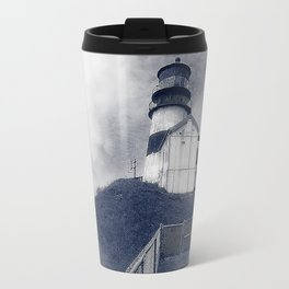 Ilwaco Washington - Memories Of The Lighthouse Travel Mug