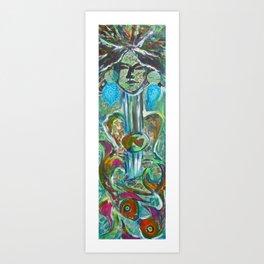 Creative Woman Art Print
