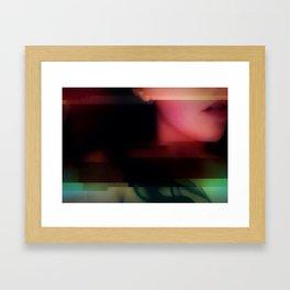Deadly Digital Nightshade Framed Art Print