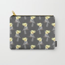 Cute cockatiel Carry-All Pouch
