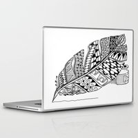 writer Laptop & iPad Skins featuring Writer Love by Vermont Greetings