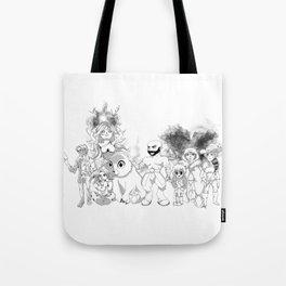 Vox Machina - Critical Role Line Art Tote Bag