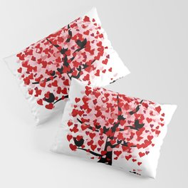 Valentine tree Pillow Sham