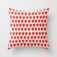 3 berries Throw Pillow