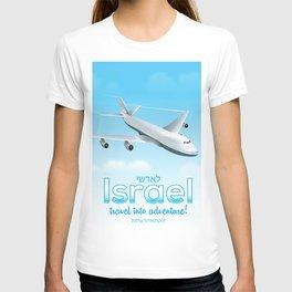 Israel flight poster T-shirt