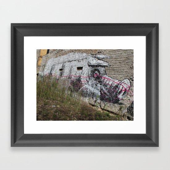 Schweinchen Framed Art Print