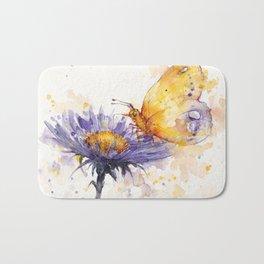 Flowers & Flutters Bath Mat