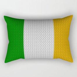 Flag of Ireland - knitted Rectangular Pillow