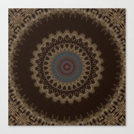 Sequential Baseline Mandala 26 Canvas Print