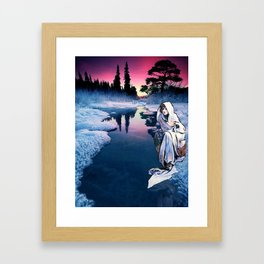 To the Bone Framed Art Print