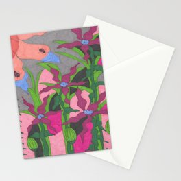 The Garden at Twilight Stationery Cards