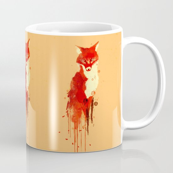 The fox, the forest spirit Mug