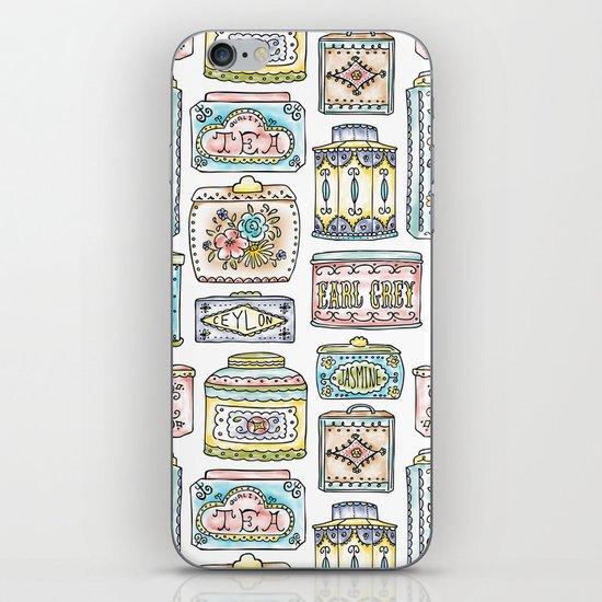 Tea Tins iPhone & iPod Skin