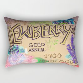 Newberry's Seed Catalogue Rectangular Pillow