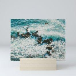 Palos Verdes Surf Mini Art Print