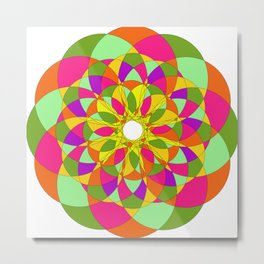 absolute Spiral Metal Print