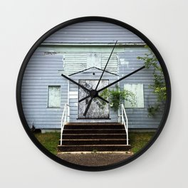 Abandon House Wall Clock