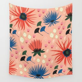 Pretty Florals Wall Tapestry