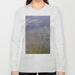 Monet, Water Lilies, 1915-1926 Long Sleeve T-shirt