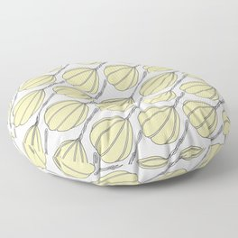 Provolone (cheese pattern) Floor Pillow