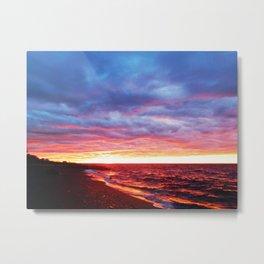 Sunset Saturation Metal Print