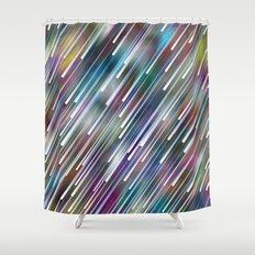 Like Neon Rain Shower Curtain
