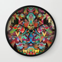 Dæmon [treatment 1] Wall Clock