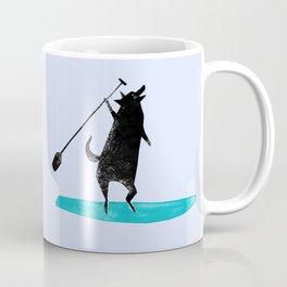 Wolf Paddle Wild - Paddleboarding on the Ocean Coffee Mug