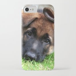 Playful Puppy. iPhone Case