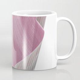 Minimal pink banana leaf Coffee Mug