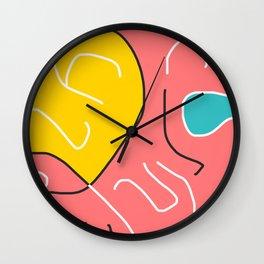 The intruder Wall Clock