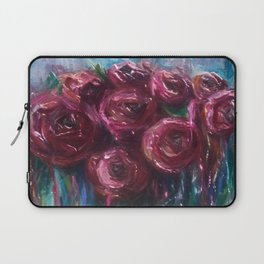 Abstract Roses Laptop Sleeve